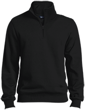 Friendtek Game Design Quarter-Zip Embroidered Sweatshirt
