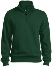 New Hampton School Huskies Quarter-Zip Embroidered Sweatshirt