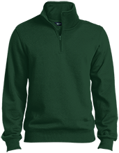 Bennett Woods Elementary School Trailblazers Quarter-Zip Embroidered Sweatshirt