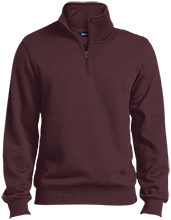 Milwaukie High School Mustangs Quarter-Zip Embroidered Sweatshirt