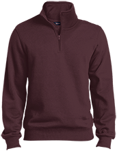 Shepherd Of The Valley Lutheran Quarter-Zip Embroidered Sweatshirt
