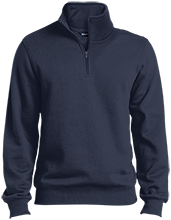 Notre Dame Academy--Hingham Cougars Quarter-Zip Embroidered Sweatshirt
