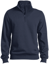 Del Val Wrestling Wrestling Quarter-Zip Embroidered Sweatshirt
