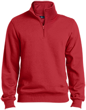 Bowman Woods Elementary School Bobcats Quarter-Zip Embroidered Sweatshirt