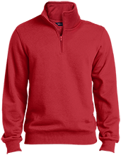 North Sunflower Athletics Quarter-Zip Embroidered Sweatshirt