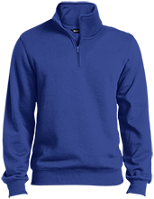 Hopewell Memorial Junior High School Vikings Quarter-Zip Embroidered Sweatshirt