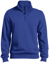 Kingston Elementary School Owls Quarter-Zip Embroidered Sweatshirt