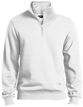 Seaford Middle School Vikings Quarter-Zip Embroidered Sweatshirt