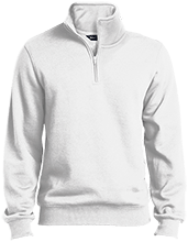 Fort Hill Elementary School Hawks Quarter-Zip Embroidered Sweatshirt
