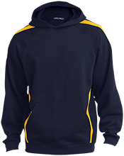 Corona Foothills Middle School Jaguars Sleeve Stripe Sweatshirt with Jersey Lined Hood
