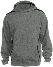 Accomodation Middle School School Sleeve Stripe Sweatshirt with Jersey Lined Hood