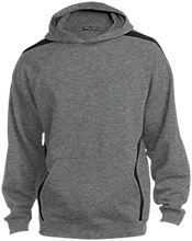 St. Michael's School Sleeve Stripe Sweatshirt with Jersey Lined Hood
