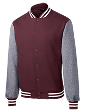 Aquinas Institute Little Irish Fleece Letterman Jacket