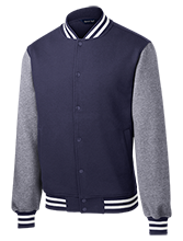 Angling Road Elementary School School Fleece Letterman Jacket