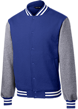 Farms Middle School Eagles Fleece Letterman Jacket