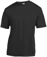 School Short Sleeve Moisture-Wicking Shirt