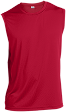 Saint Clairsville High School Red Devils Sleeveless Performance T Shirt