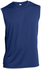 Danby Rush Tower Middle School Blue Jays Sleeveless Performance T Shirt