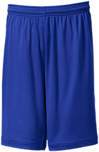 Mercer County Senior High Titans Men's Performance Shorts