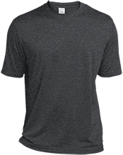 Custom Company Logo Heather Dri-Fit Moisture-Wicking T-Shirt for Him