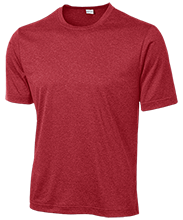 North Quincy High School Red Raiders Heather Dri-Fit Moisture-Wicking T-Shirt for Him