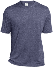 Limited Edition custom Heather Dri-Fit Moisture-Wicking T-Shirt for Him