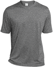 DESIGN YOURS Heather Dri-Fit Moisture-Wicking T-Shirt for Him