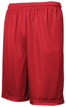 Colfax County District 501 School Raiders Personalized Mesh Gym Short