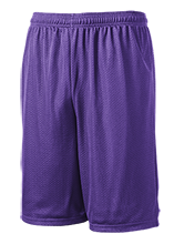 Morgan Mill Elementary School Mustangs 9 inch Workout Shorts