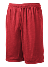 Platteville Middle School Hillmen 9 inch Workout Shorts
