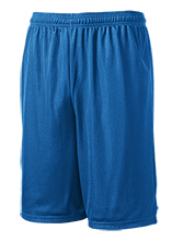 Sebring Middle School Sebring Blue Streaks 9 inch Workout Shorts
