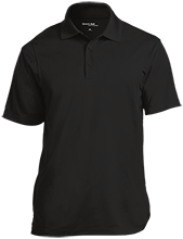Adams Middle Panthers Micropique Tag-Free Flat-Knit Collar Polo