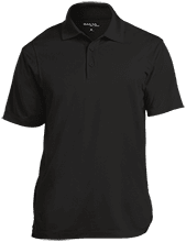 Ankeney Middle School Chargers Micropique Tag-Free Flat-Knit Collar Polo