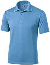 Belleville East High School Lancers Micropique Tag-Free Flat-Knit Collar Polo