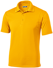 Lovell Middle School Mustangs Micropique Tag-Free Flat-Knit Collar Polo