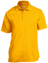 Broad Meadows Middle School School Micropique Tag-Free Flat-Knit Collar Polo
