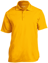 Friendtek Game Design Micropique Tag-Free Flat-Knit Collar Polo