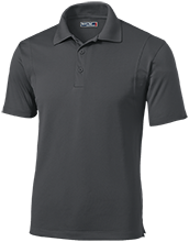 Discovery Charter School Warriors Micropique Tag-Free Flat-Knit Collar Polo