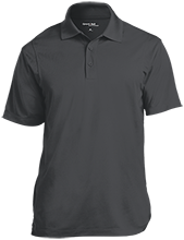 Mount Olive Township School Micropique Tag-Free Flat-Knit Collar Polo