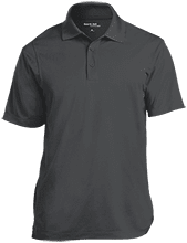 Ballard Junior High Schoo School Micropique Tag-Free Flat-Knit Collar Polo