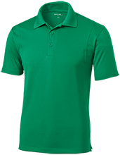 Fair Oaks Elementary School Bulldogs Micropique Tag-Free Flat-Knit Collar Polo