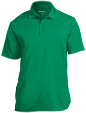 Lake Placid Elementary School Dragons Micropique Tag-Free Flat-Knit Collar Polo