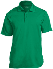 Charles Clark Elementary School School Micropique Tag-Free Flat-Knit Collar Polo