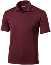 VOID Micropique Tag-Free Flat-Knit Collar Polo