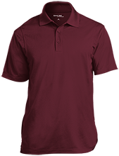 Horizon High School Hawks Tall Micropique Tag-Free Flat-Knit Collar Polo