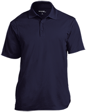 Daytona Beach Christian School Saints Micropique Tag-Free Flat-Knit Collar Polo