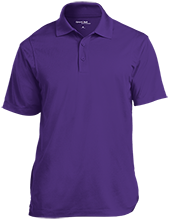 Irving Elementary School Eagles Micropique Tag-Free Flat-Knit Collar Polo