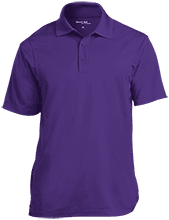 Bristol Bay Angels Micropique Tag-Free Flat-Knit Collar Polo