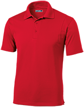 EUSA Eusa Micropique Tag-Free Flat-Knit Collar Polo