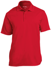 Chick-Fil-A Classic Basketball Micropique Tag-Free Flat-Knit Collar Polo